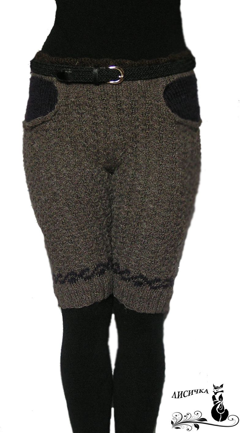 clothes wool trousers grey winter knitting