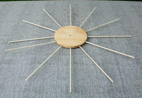balls clock designer wooden make