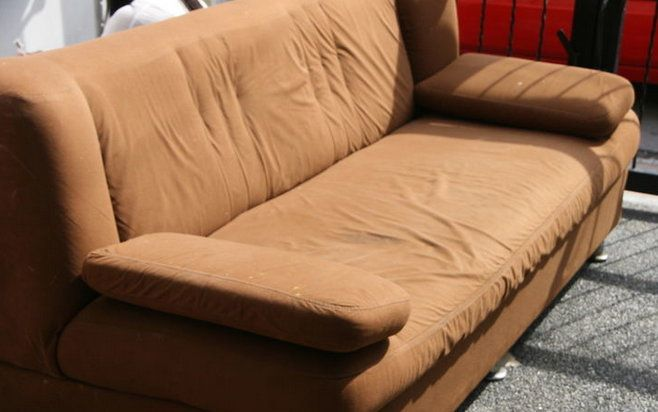steps sofa furniture clean microfiber