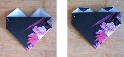 souvenir crafts heart paper make