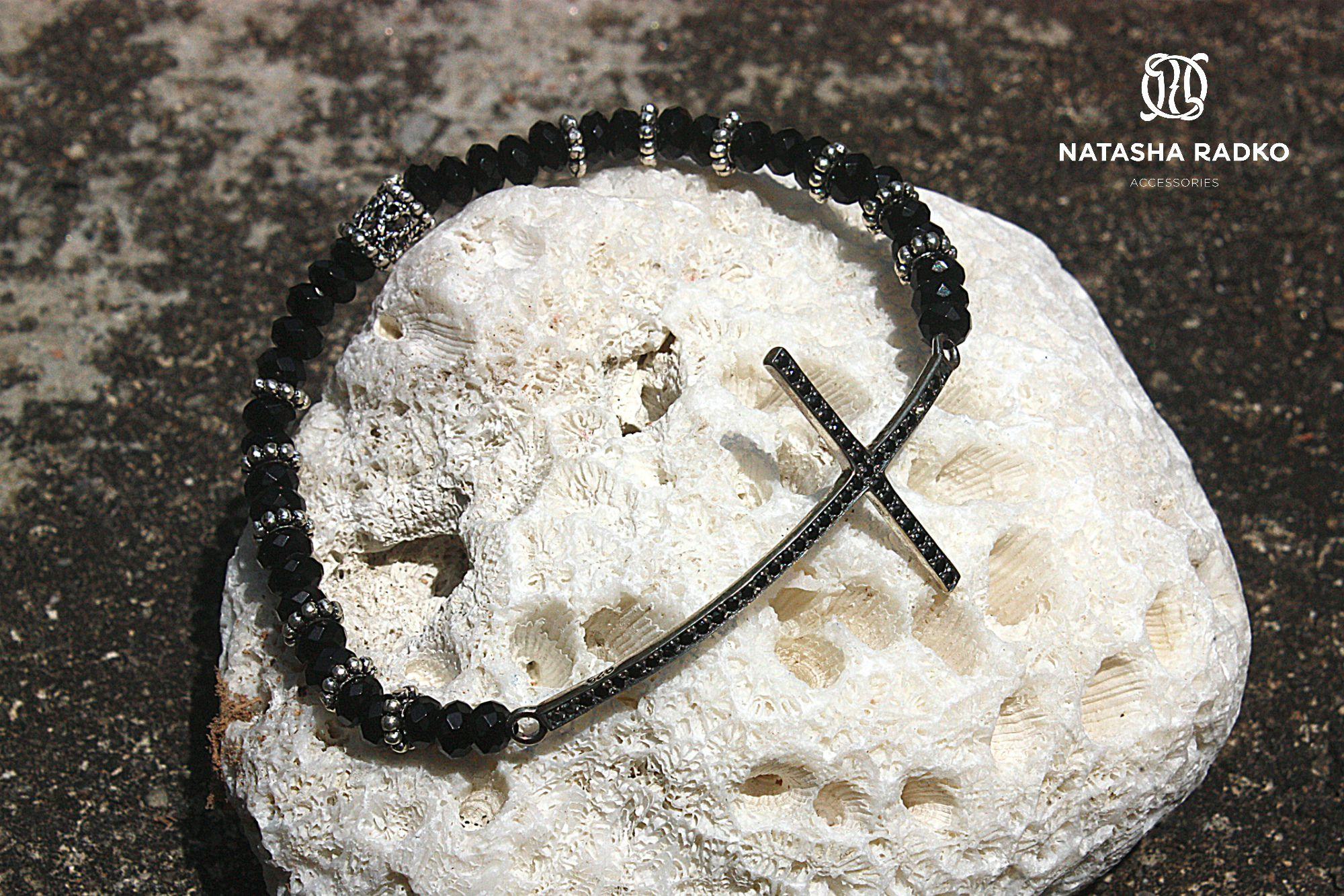 wristlet present silver agate jewelry
