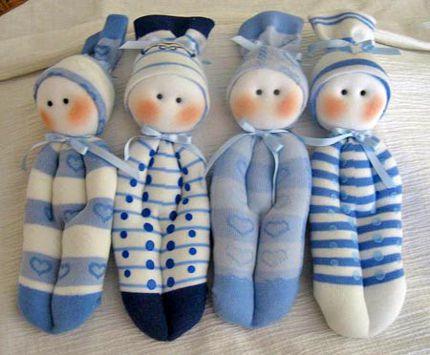 toy puppet sock soft make