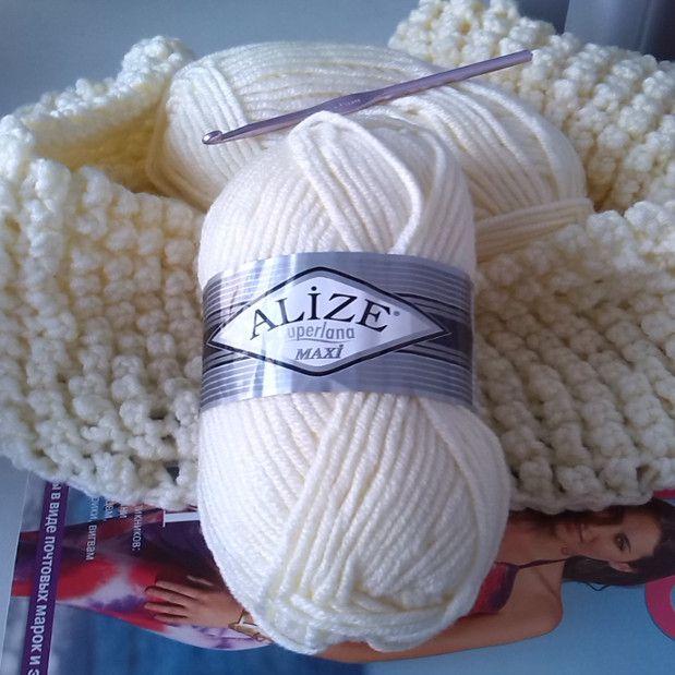 goods cowl crochet textile pattern