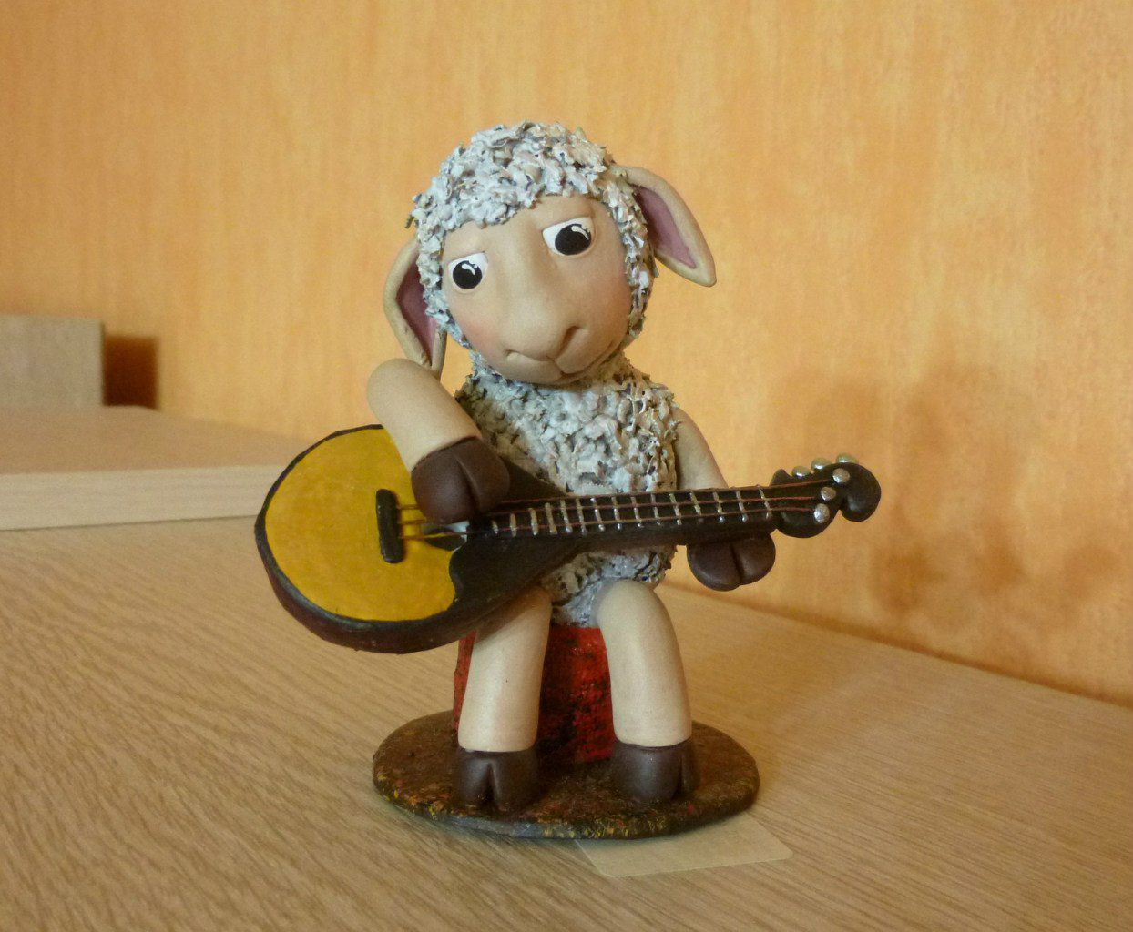 toy interior kids sheep domra