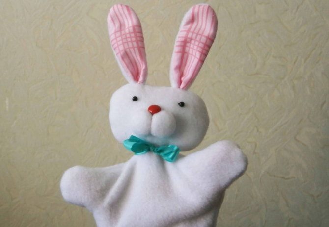 make rabbit instructions puppet hare