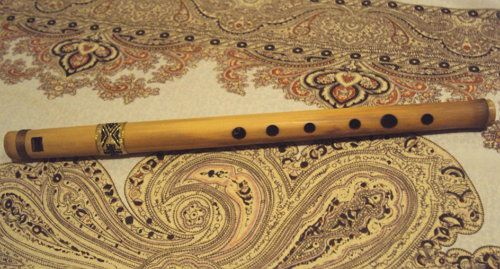 wooden unusual flute scheme pipe