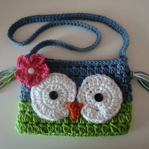 owl children handbag