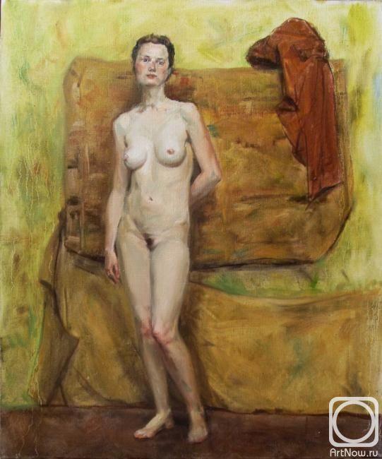 art painting erotic home modern catherine