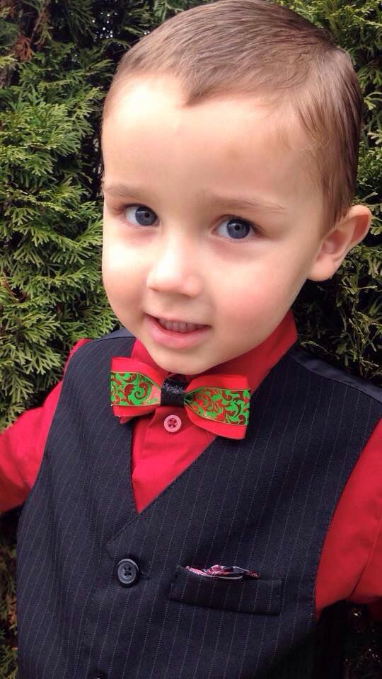 boys holiday bow tie christmas for