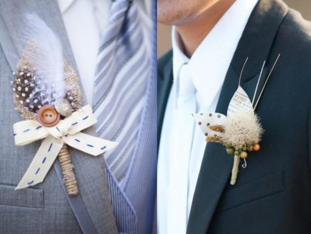 boutonniere abbi_home mensstaff weddingstuff diyaccessories