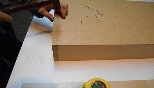 box wooden assembly drawer handicrafts make