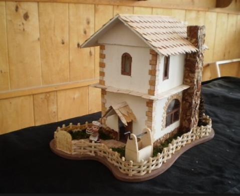 wooden house handmade