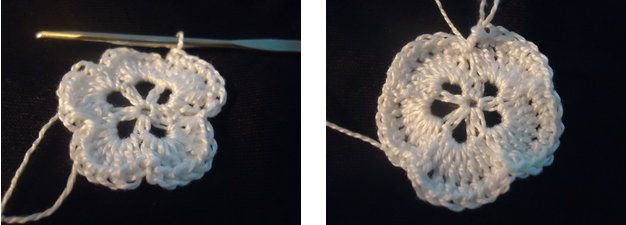 goods crochet textile rose flower
