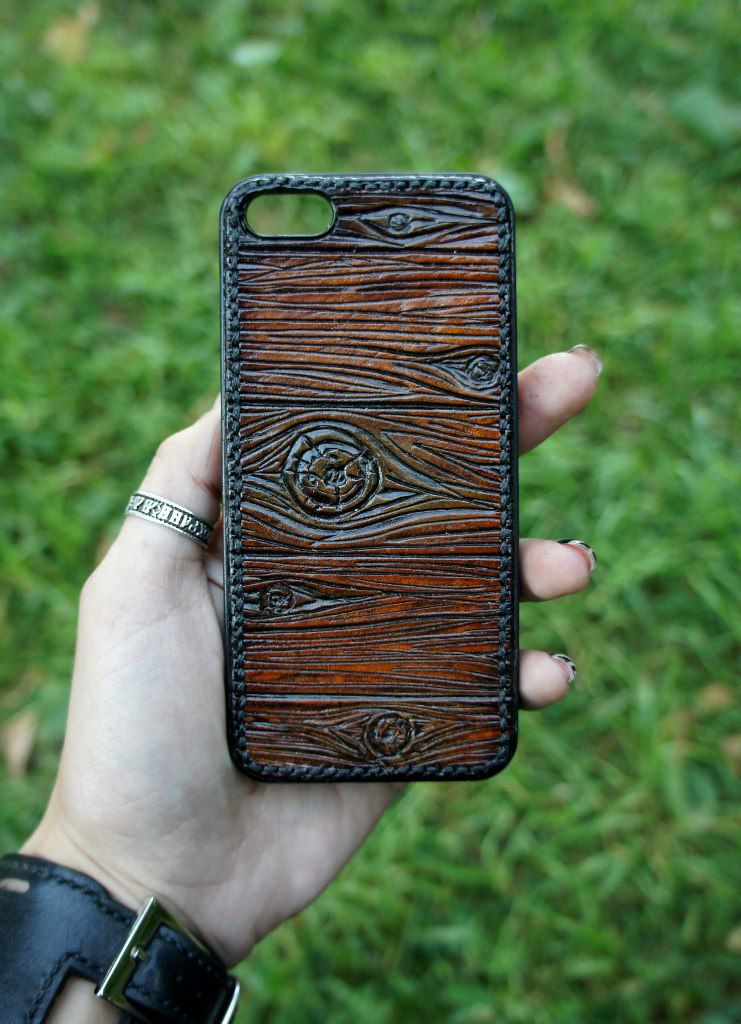 handmade leather exclusive phone iphone case