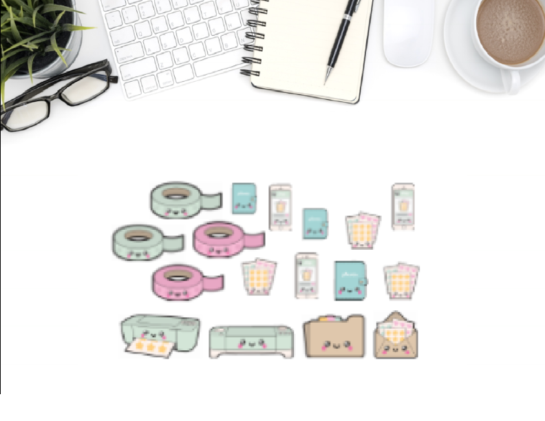 condren erin planner sticker kawaii