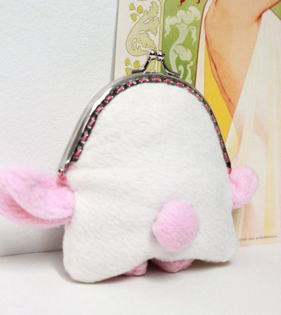 birthday day gift coin monster purse pet valentine handmade animal