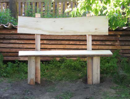 project wooden handicrafts make bench