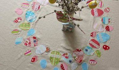 make instruction textile tablecloth round goods