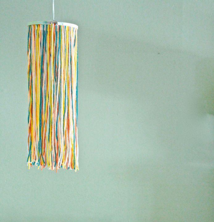 decor design interior yarn home decoration house chandelier