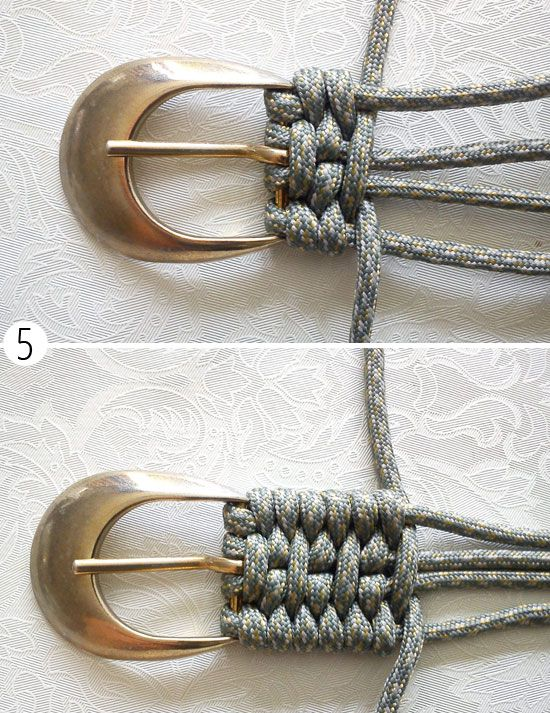 accessories cord belt paracord make