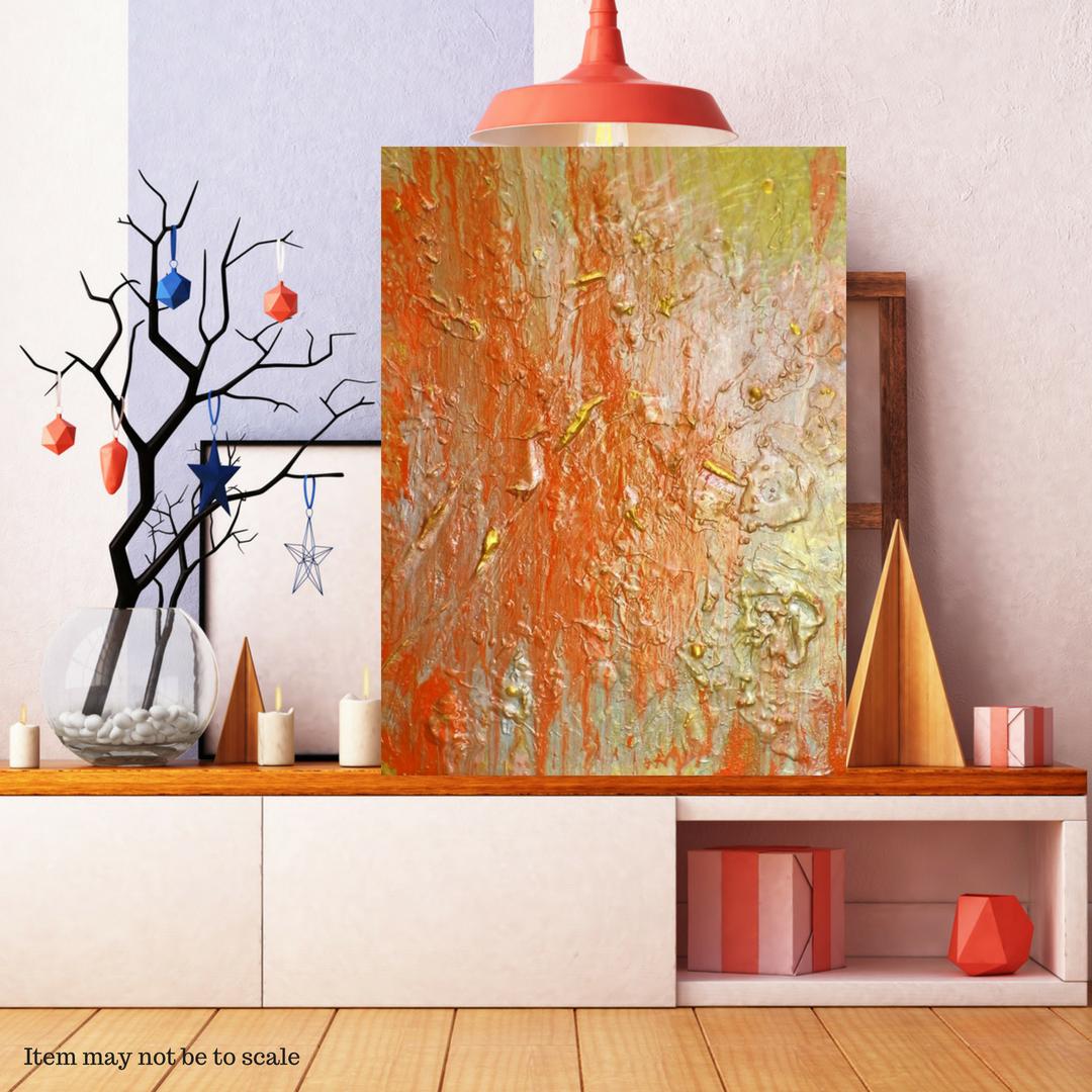 original etsyseller gennhaio acrylicpour artwork