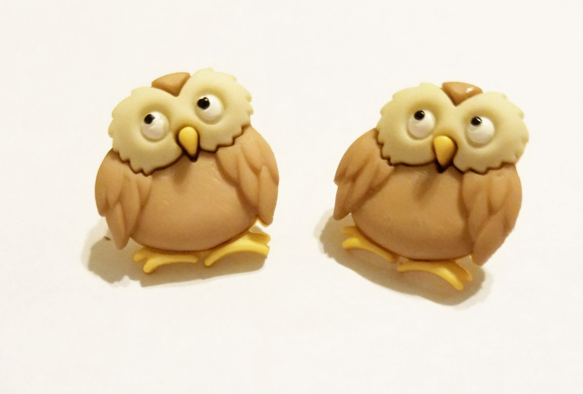 handmade owls kriszcreations uniquegifts giftsforher uniqueearrings