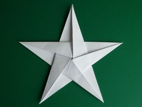 paper origami star crafts make pentagonal