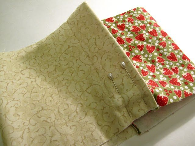 cover goods textile sew book