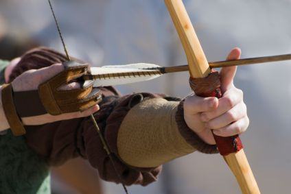 longbow make wood arrows handicrafts