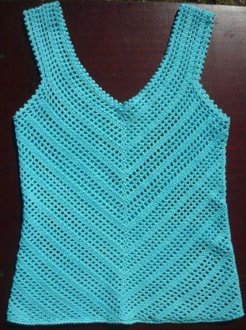 goods crop crochet textile top