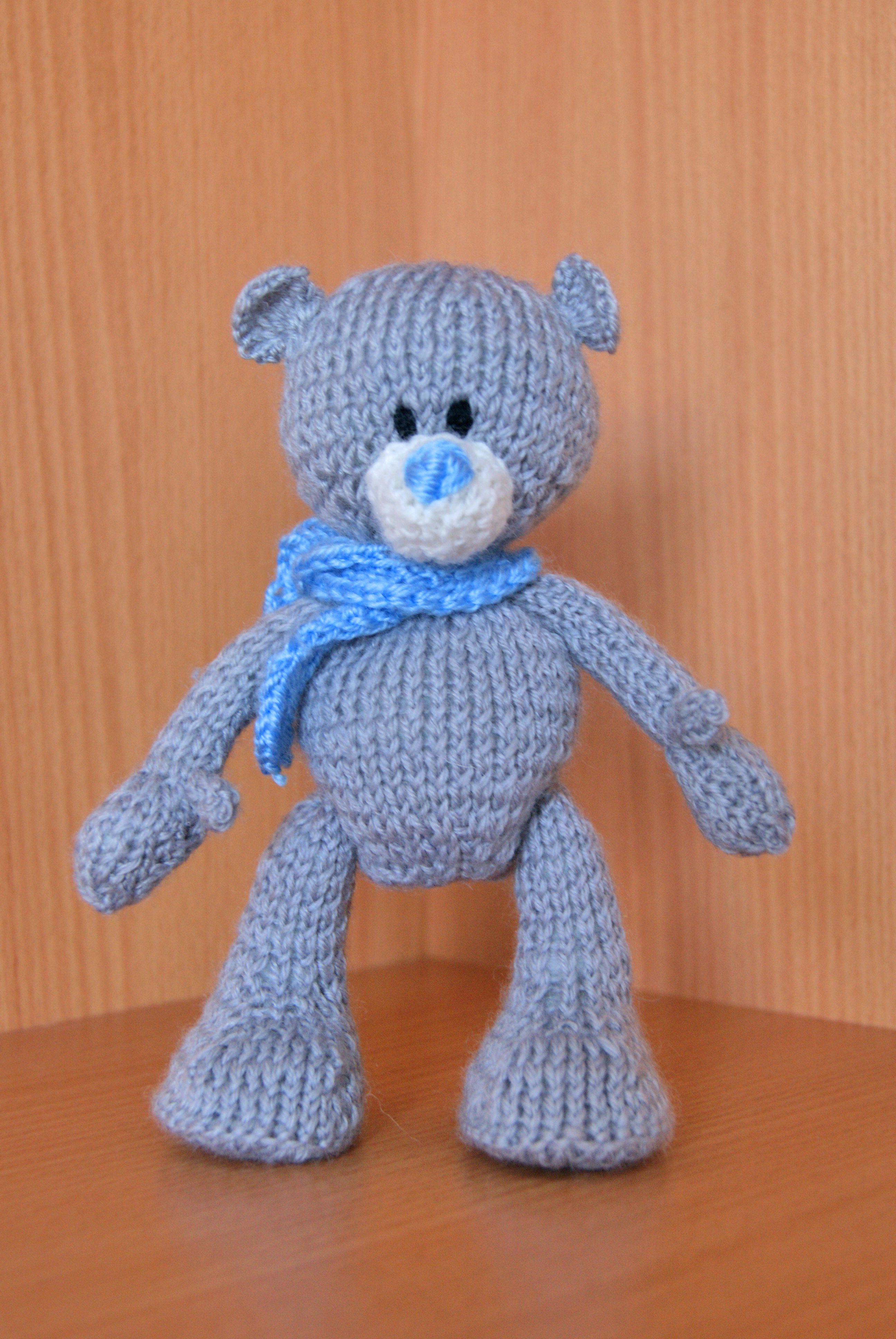 toy gift warm children teddy interiortoy bear knit