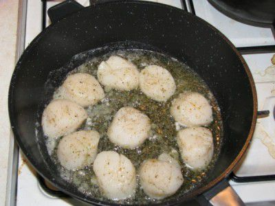 cookery scallops cook ingredients recipe