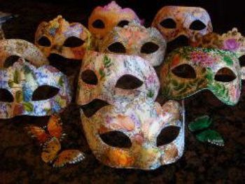 venetian plastic unusual make plaster mask