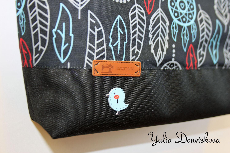 bag gift travel leaves handmade