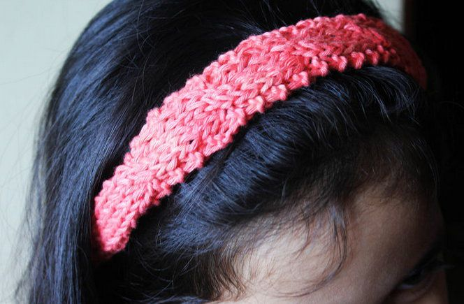 headband textile knit stages goods