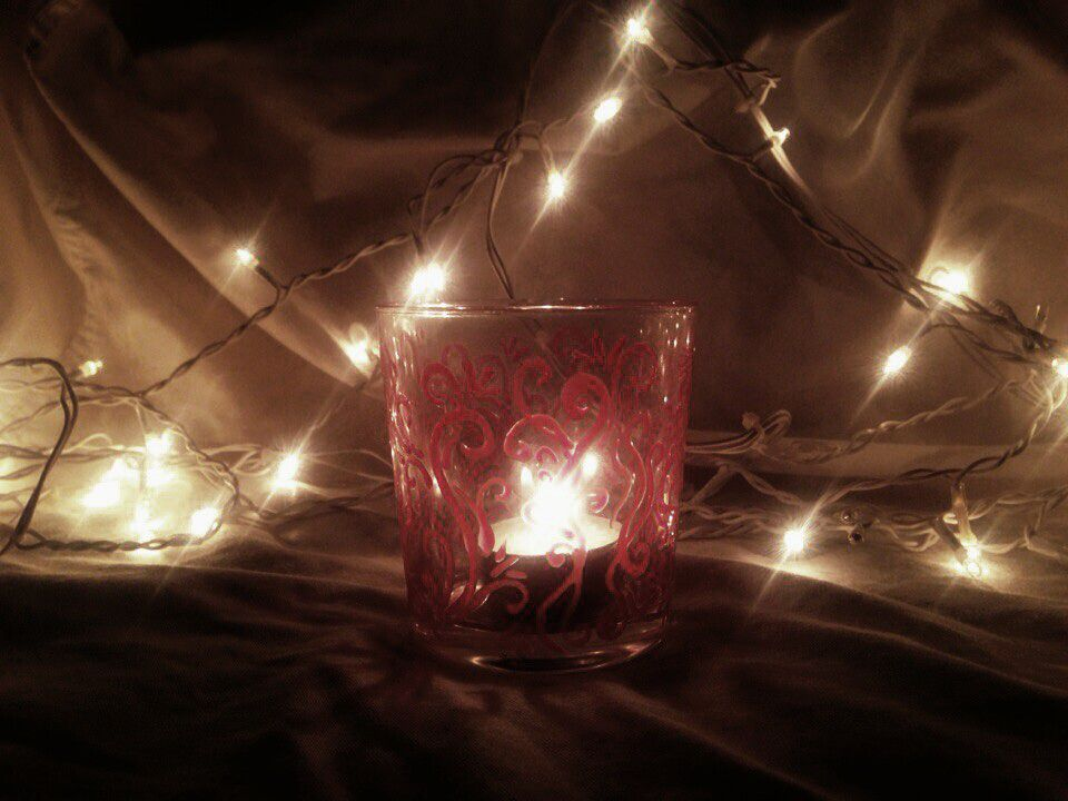 gift romantic interior holder candle