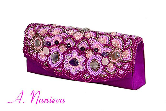 beads exclusive clutch berrymix