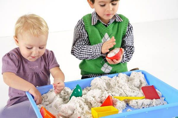 bestmom fantasy diychildren activities kineticsand game sand hobby idea homemade creativeidea handmade handicraft play