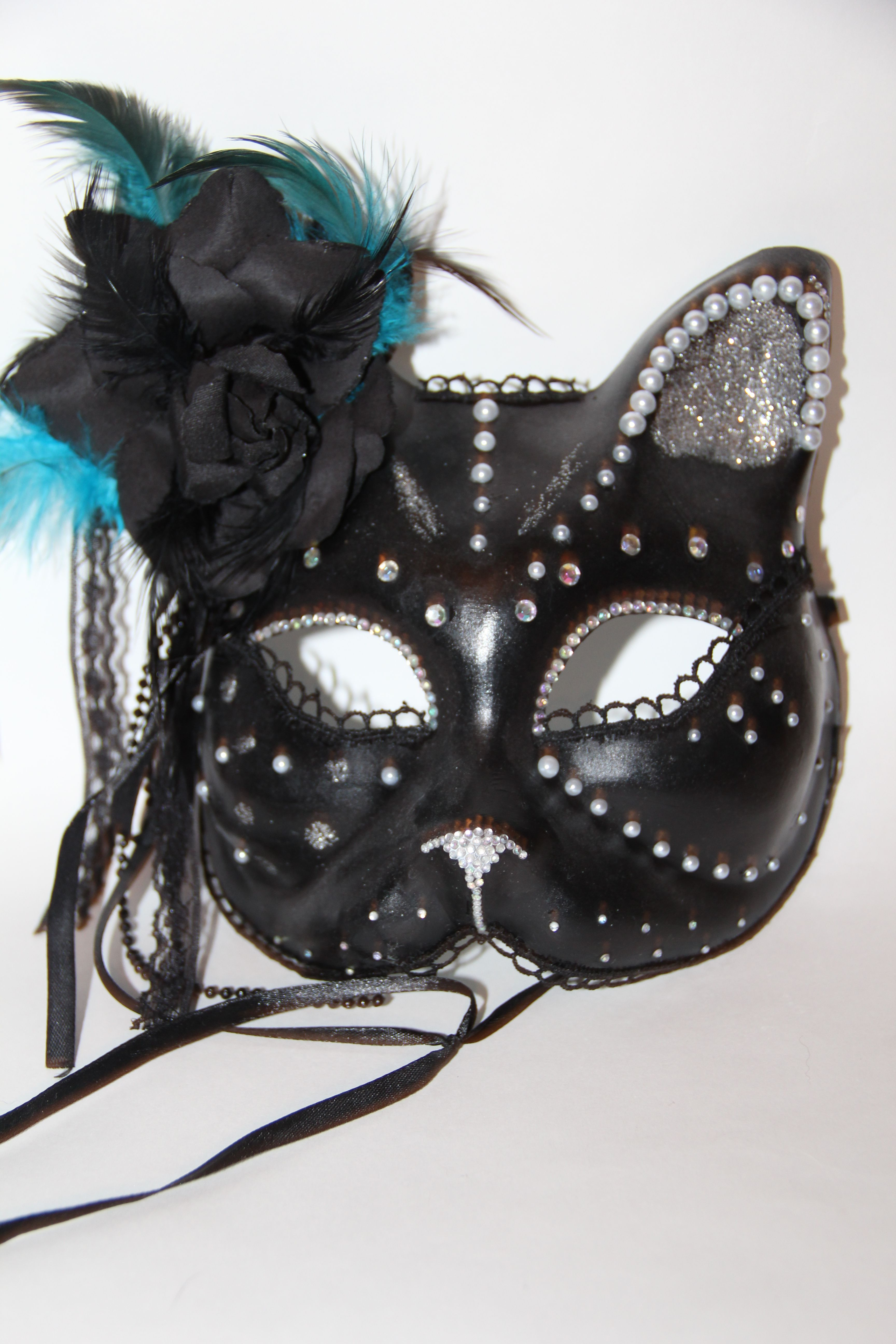 cat interior halloween accessory mask