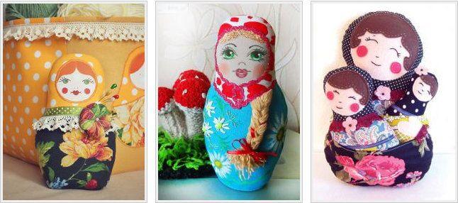 matryoskha nesting russian dolls unusual tutorial make
