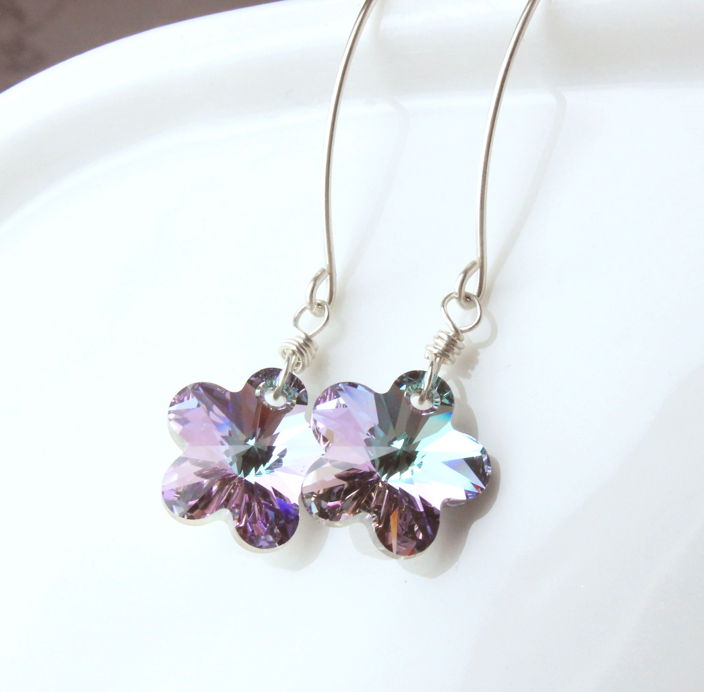 Earrings Crystal