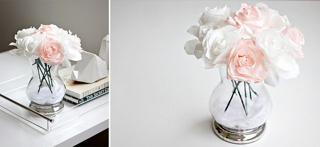 flowers paperidea decor decoration diy coffeefilters beautiful handmade wedding flower