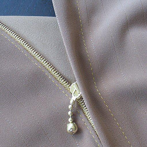 goods textile sew clothing zipper