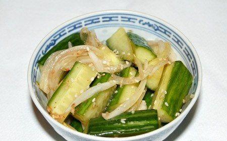 ingredients cucumbers korean cookery cook recipe