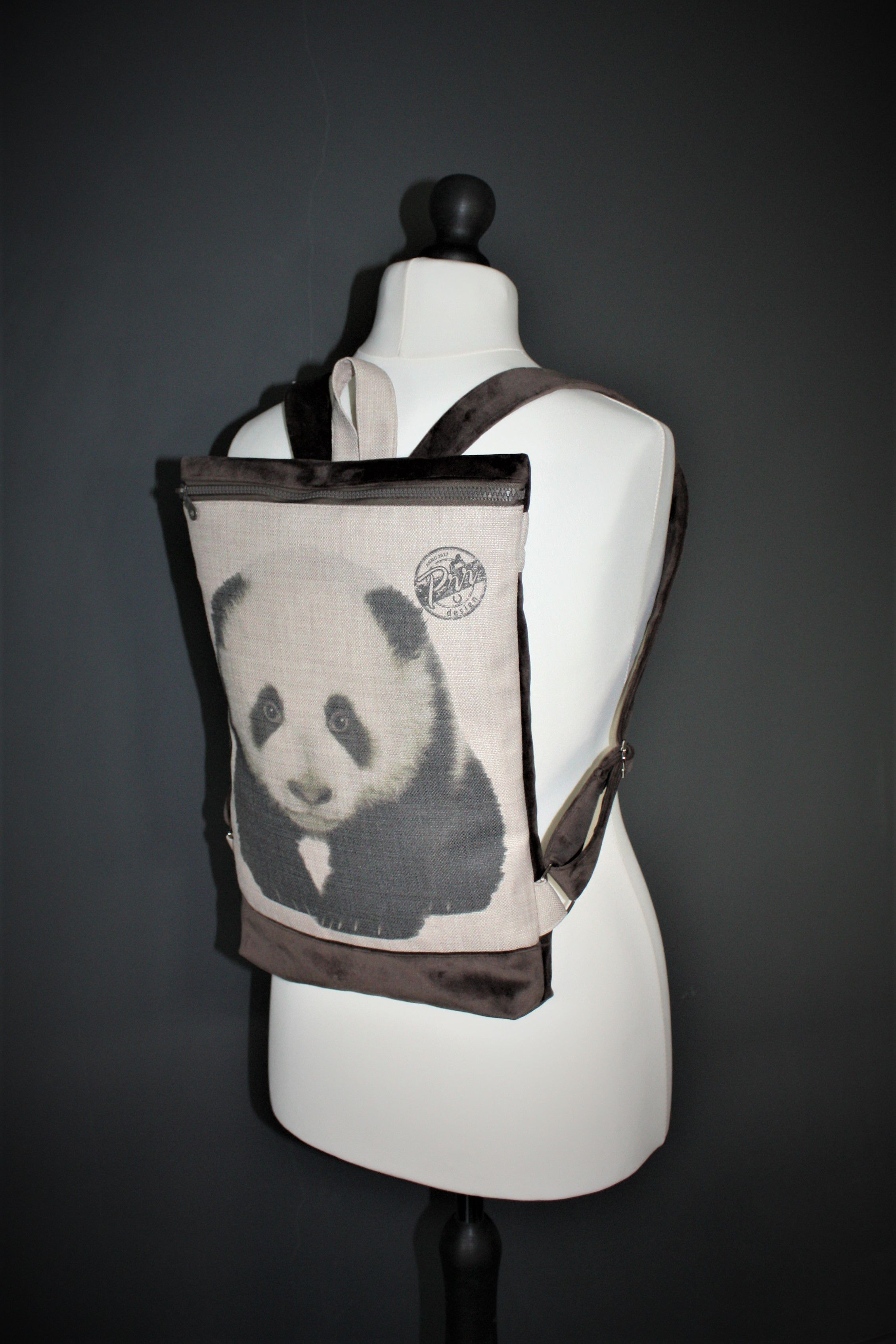 backpacks vegan gift cute rucksack girls women panda bear cutest backpack minimalist