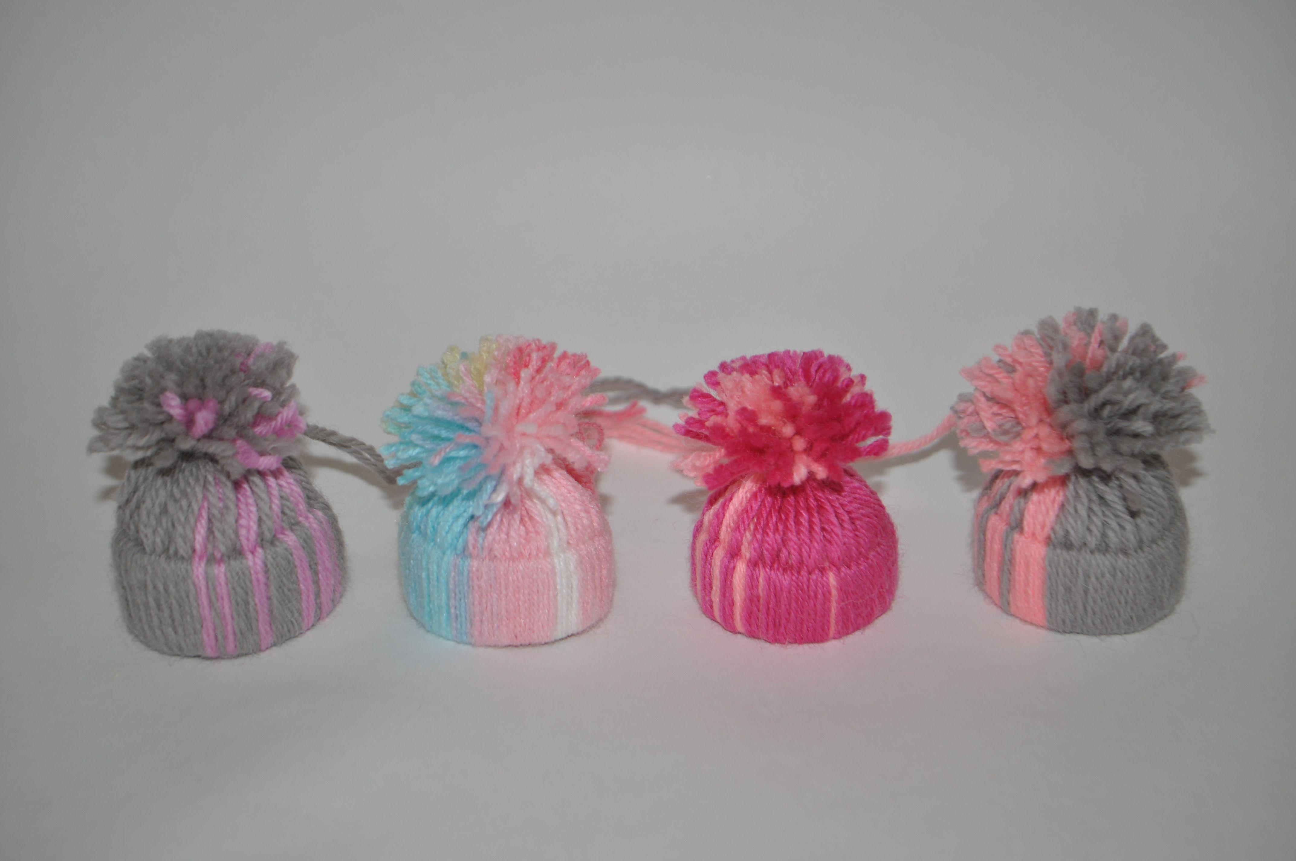 handmade toy souvenir yarn hat christmastree coloured threads