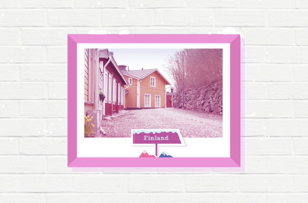 finland poster gift wall travel photography print art
