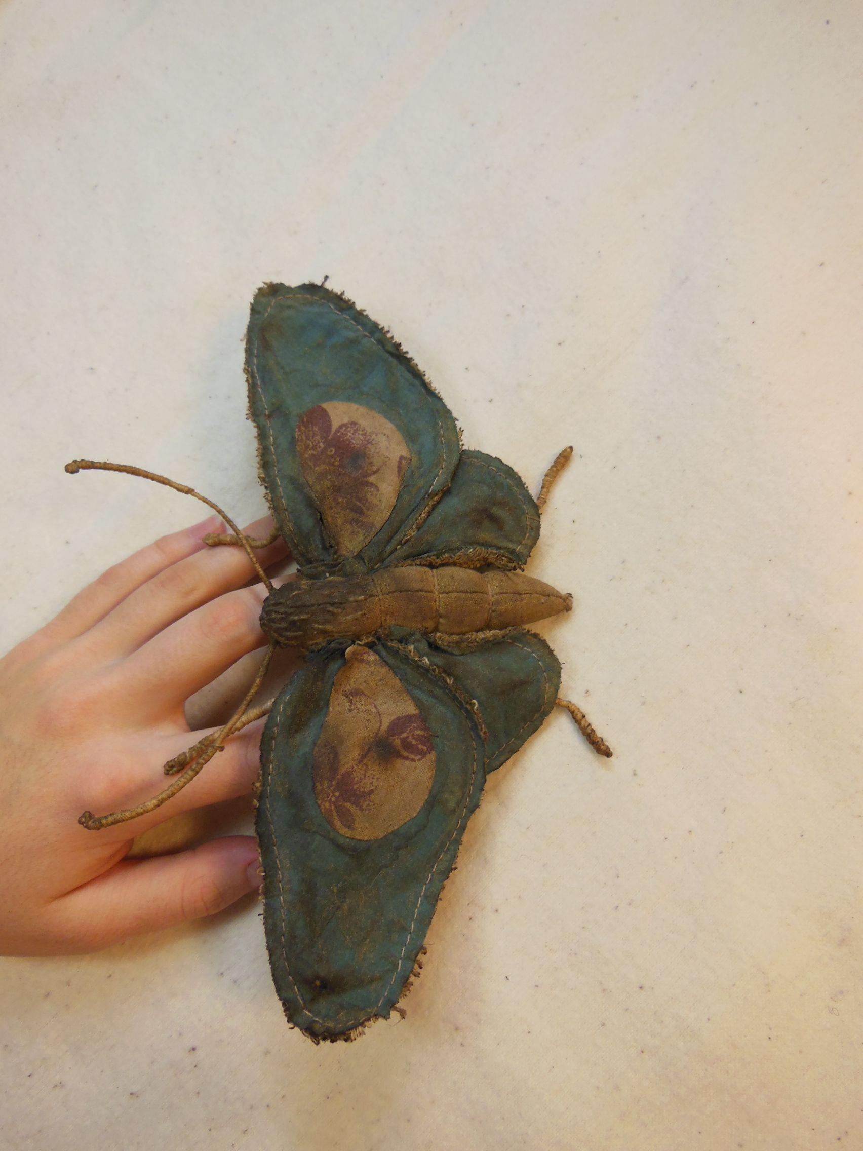 toy coffee butterfly kids green