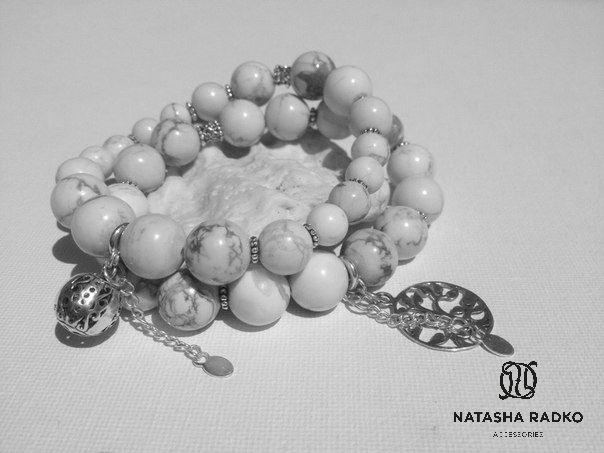 cacholong present wristlet jewelry silver