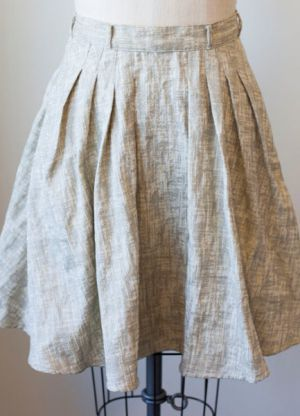 skirt material make clothing pleated
